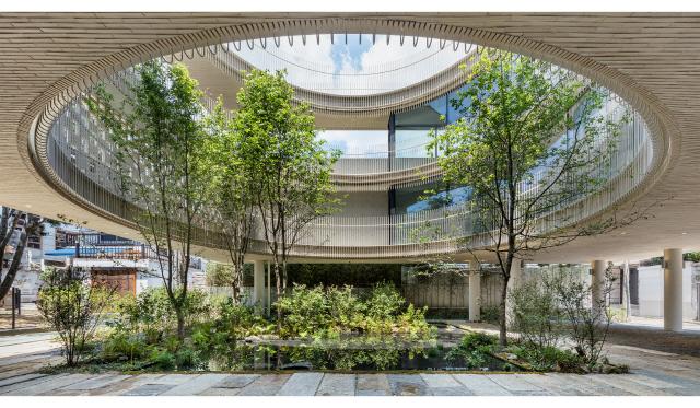 [건축과 도시] 통의동 브릭웰 '골목·안과 밖 연결하는 도심 속 작은 정원'