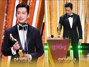 드림즈X남궁민, 한국시리즈 우승만큼 기쁜 대상 트로피 품었다 'SBS 연기대상'(종합)