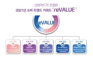 신한카드, 2021년 소비트렌드 키워드 'reVALUE' 선정