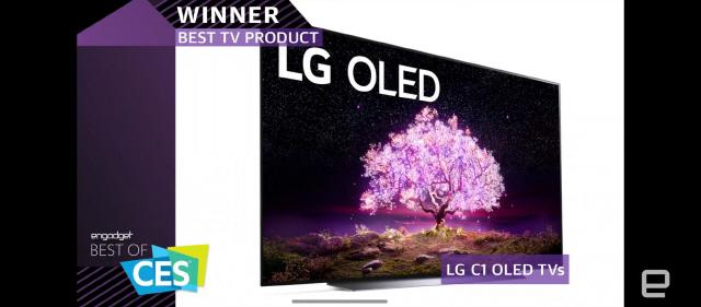 [CES 2021] LG 올레드TV·롤러블 폰 '최고상'