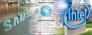 """삼성, TSMC와 '인텔 위탁생산' 진검승부…""""파운드리 판 바꾼다"""""""