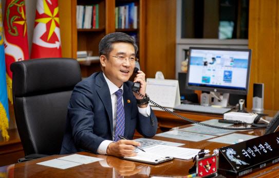 """서욱 국방장관, 美 국방과 첫 통화···""""한미동맹 굳건함 재확인"""""""