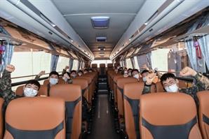공군 장병들, 부대인근 명소 버스로 둘러보며 '코로나 블루' 극복