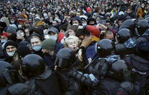 """중국, 나발니 석방 요구한 미국에 """"내정 간섭"""" 비판"""