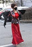 김연자, 출근길 '아모르파티'
