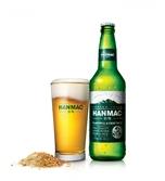 '녹색옷' 입은 우리쌀로 만든 맥주…한맥, 테라열풍 잠재울까