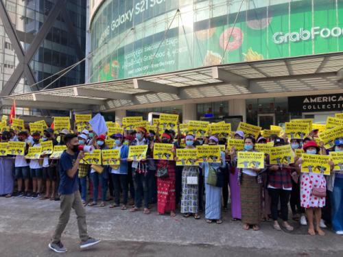 미얀마의 군대, 의료진에 대한 본격적인 탄압
