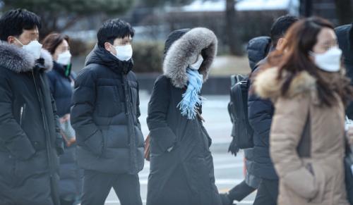 '마지막 한파'섭씨 영하 10도 이하 18 일까지 추워