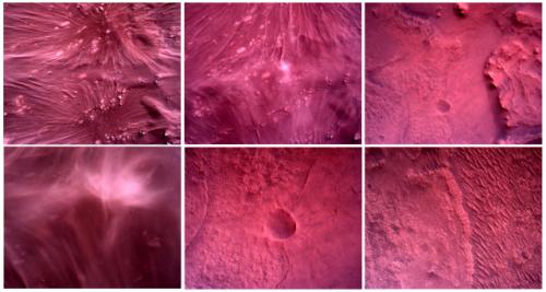 [사진] 탐사 로버 '퍼서비어런스'가 찍은 화성 표면