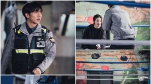 '마우스' 이승기vs박주현, 격투장 데스매치 투샷 공개