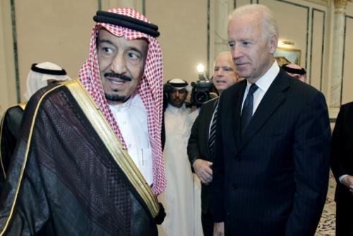 '카슈끄지 암살 보고서' 공개 앞두고…바이든, 사우디에 인권·법치 강조