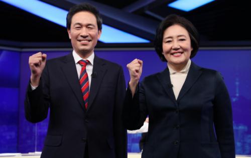 온라인으로 시작된 민주당 투표…박영선·우상호, 최종 승자는