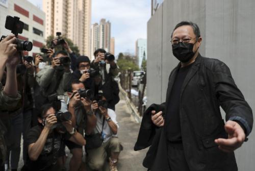 조슈아 웡 등 47명, 홍콩보안법상 '국가전복' 혐의로 기소