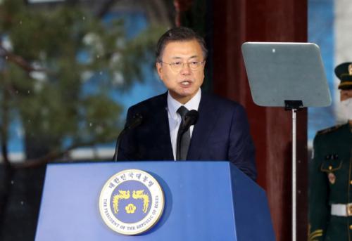 [전문]文대통령, 3·1절 기념사 '독립선언 목적, 일본 배척 아닌 세계평화'
