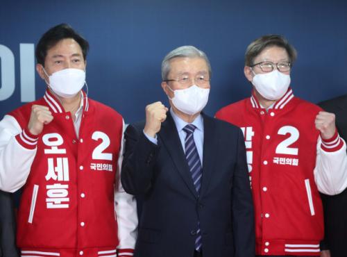 오세훈, 나경원 꺾고 서울시장 후보에…부산은 박형준