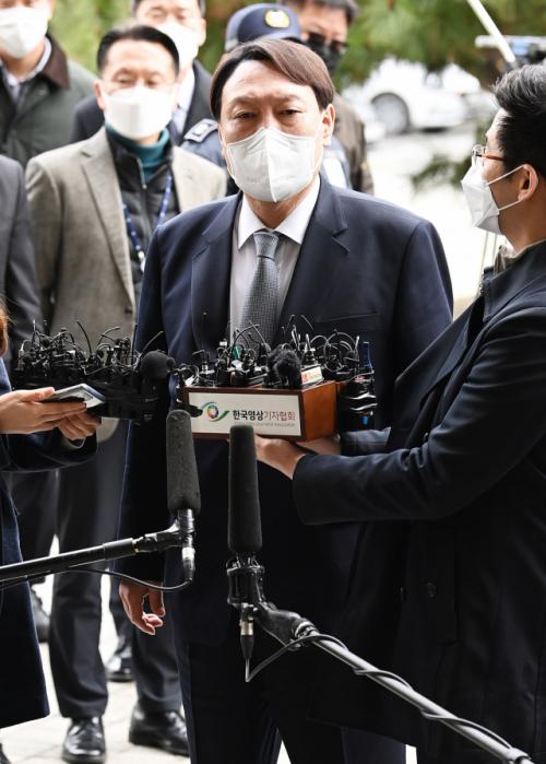 윤석열 전격 사의…'자유민주주의와 국민 지키겠다'