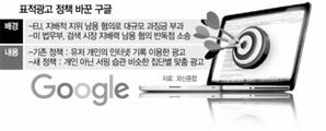 '사생활 침해' 구글, 개인 웹서핑 추적 안해