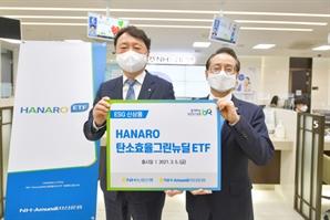 권준학 농협은행장, NH아문디 '그린뉴딜 ETF' 가입