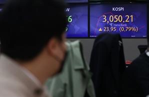[오후 주식시장은]중국 증시 약세, 美 국채 금리 압력에 코스피 약세 전환