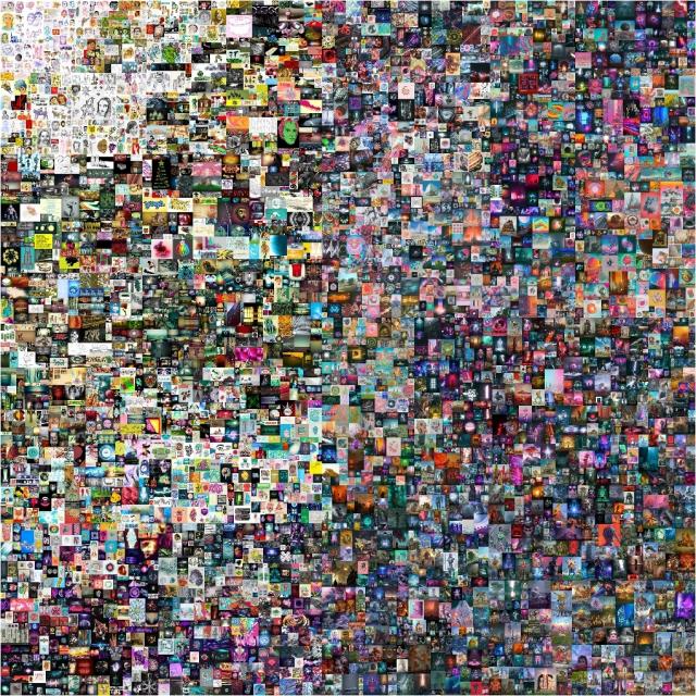 디지털 그림이 710억원! 디지털미술사(史)의 시작?