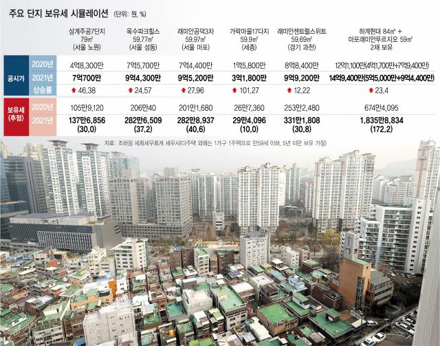 '세금 아닌 갈취' 곳곳 비명…강북 2채 보유세 3배 늘어