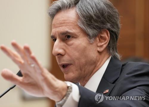 중국 국왕이 한국을 방문했을 때와는 다른 분위기 … 미 장관의 방한을 가장하지 않은 당 정부