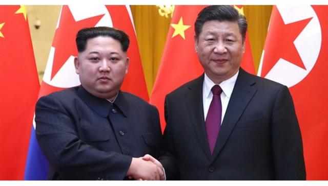 '협력을 강화하자'시진핑-김정은 편지 교류 … 문 북부 과시