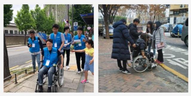 휠체어 타는 딸, 엄마가 만든 지도에 장애는 없다
