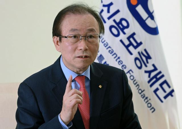 한종관 서울신보 이사장 '소상공인 재기 지원에 모든 역량 집중'