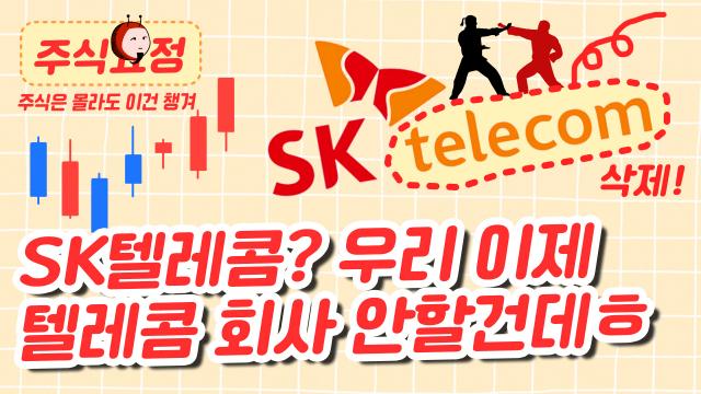 [주식요정] SK텔레콤? 이제 '텔레콤 회사' 아님! (영상)
