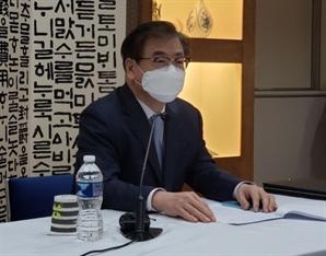"""서훈 """"한미일, 북핵문제 시급성·북미협상 조기재개 노력 공감"""" (종합)"""