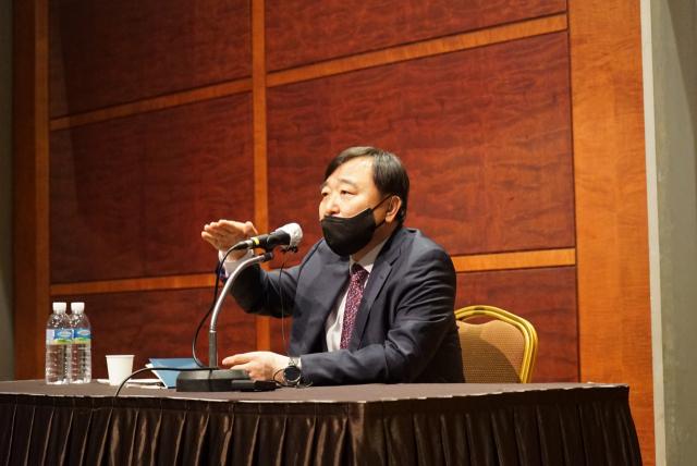 """안현호 KAI 사장""""유일 UAM 핵심 역량은 KAI… 2030 년 매출 10 조원"""""""