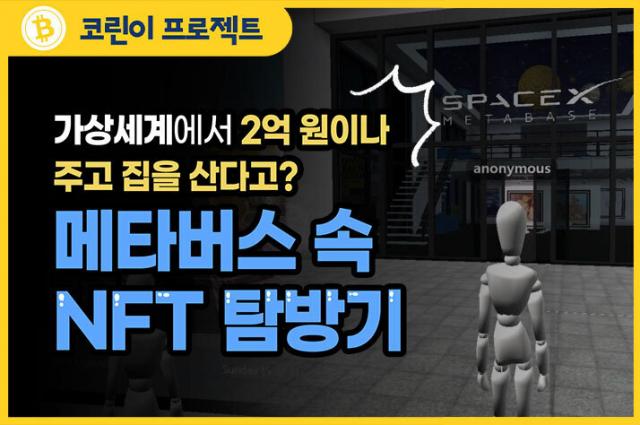 [코린이 프로젝트]13 메타버스 속 NFT 탐방기