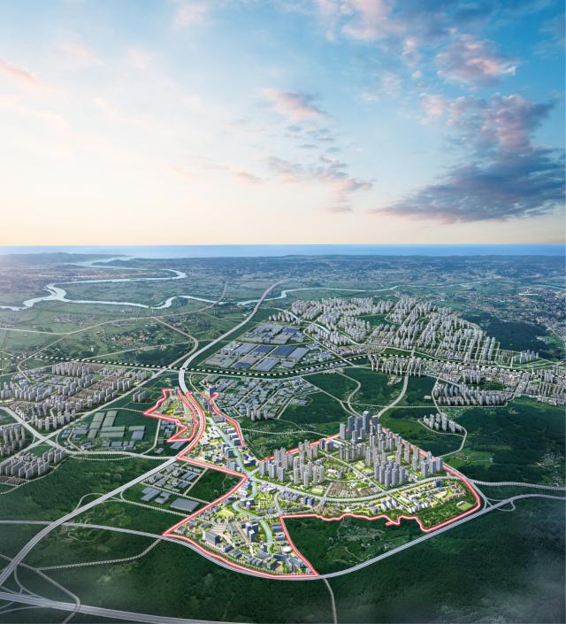 중흥건설, 경기 평택 '브레인시티' 3차 용지 공급