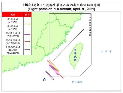 대만 '중국군, 1주일 연속 방공식별구역 진입'