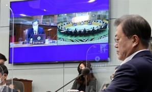 오세훈, 국무회의 데뷔전서 장관들과 '방역·부동산 난타전'