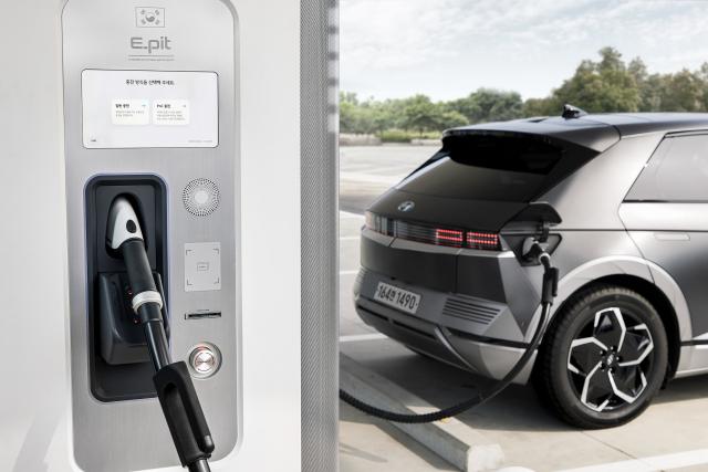 현대차, 초고속 전기차 충전소 'E-pit' 개소
