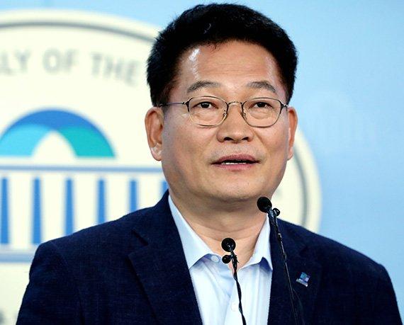 송영길 '日 오염수 방류, 지독한 자국 이기주의…주변국과 공동대응방안 마련'