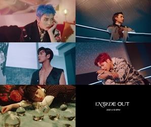 뉴이스트 정규 2집 타이틀곡 'INSIDE OUT' MV 티저 강렬한 임팩트