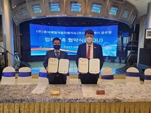 중국 프리미엄 자동차 브랜드 '중국제일자동차홍치', 한국시장 진출 본격화