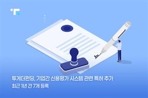 투게더펀딩, 기업간 신용평가 시스템 특허 출원