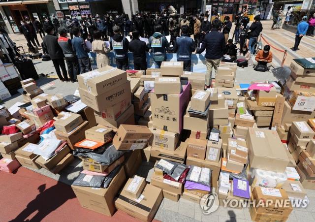 '차량 진입 갈등' 택배기사, 오늘부터 집 앞 배송 재개