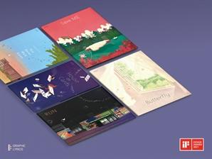 BTS 그림책 '그래픽 리릭스' 시리즈, 獨 iF 디자인어워드 본상 수상