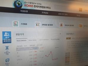 광물公 자원가격정보예측 '글로벌 톱' 수준