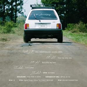 '데뷔 10주년' B1A4의 특별한 선물…23일 디지털 싱글 '10 TIMES' 발매