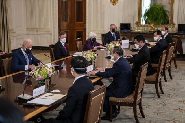 ① 미국은 중국의 압력 참여를 확인하고 일본은 센카쿠 열도를 관리
