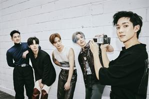 뉴이스트 신곡 'INSIDE OUT' 음원 차트 최상위권