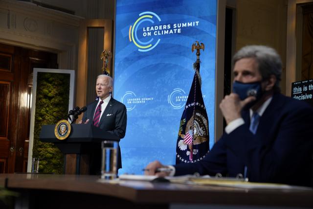 바이든 '2030년까지 미 온실가스 절반 감축'