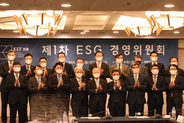"""국내 최대 ESG 경영委 떴다…""""소통·반기업 해소 나설 것"""""""