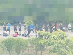 [단독] 격리중 노마스크 구보…'내로남불' 軍간부들